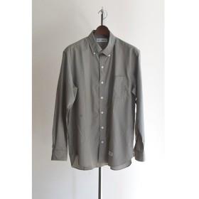 WACKOMARIA(ワコマリア)|B.D DRESS SHIRT KHAKI