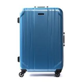 ワールドトラベラー スーツケース World Traveler キャリーケース SAGRES サグレス フレーム 66L 5~6泊 中型 Mサイズ ハード 旅行 軽量 キャスターストッパー ACE エース 06062 ブルーカーボン(15)
