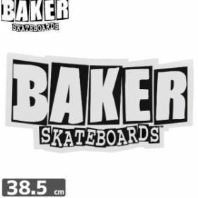 ベーカー BAKER SKATEBOARD スケボー ステッカー LOGO 18.5cm×38.5cm NO01