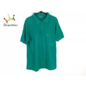 ラコステ Lacoste 半袖ポロシャツ サイズL メンズ グリーン   スペシャル特価 20190625