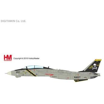 ホビーマスター 1/72 F-14A トムキャット第84戦闘飛行隊 ジョリー・ロジャース 1986 完成品 HA5219(ZM51804)