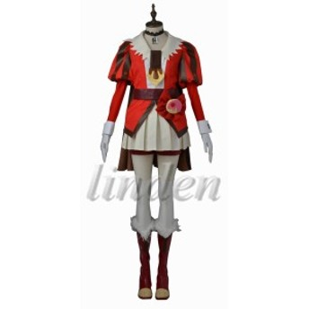 [linden] キラキラ☆プリキュアアラモード  剣城 あきら/キュアショコラ  日常 コスプレ衣装