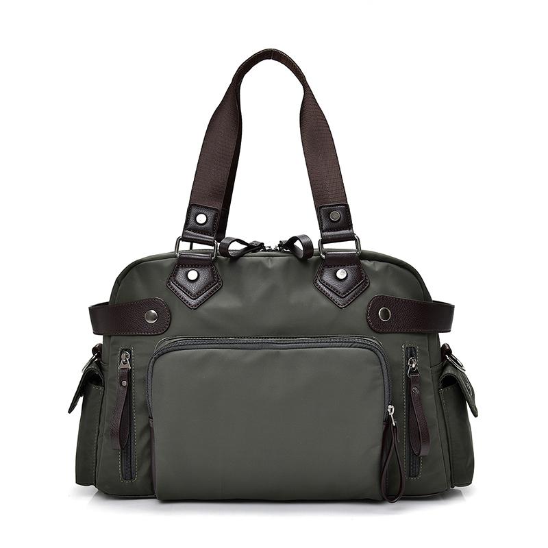 牛津手提包 森林綠 2019最新韓款精品包 限量 背包 公事包 商務包 單肩側背包 休閒包 手提包