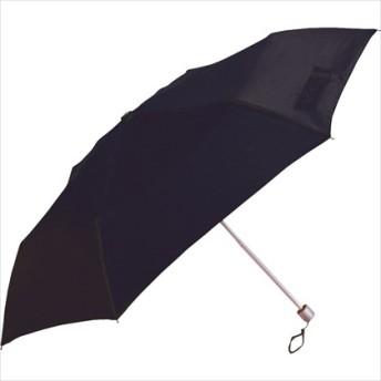 【折りたたみ傘】無地 スリム・50cm 60255 ブラック