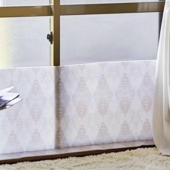 窓からの冷気を防ぐL字形寒さよけボード〈ダイヤ柄〉 フェリシモ FELISSIMO