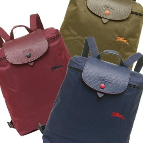 LONGCHAMP ロンシャン LE PLIAGE CLUB BACKPACK 折りたたみ ナイロン 1699 619