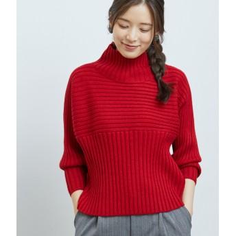 ニット・セーター - ROPE' PICNIC リブ切り替えプルオーバー
