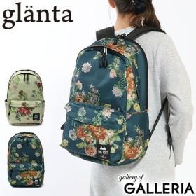 glanta グレンタ ヴィンテージフラワープリントリュックサック A4 04070681