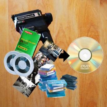 VHS miniDV 8mmビデオのダビングサービス
