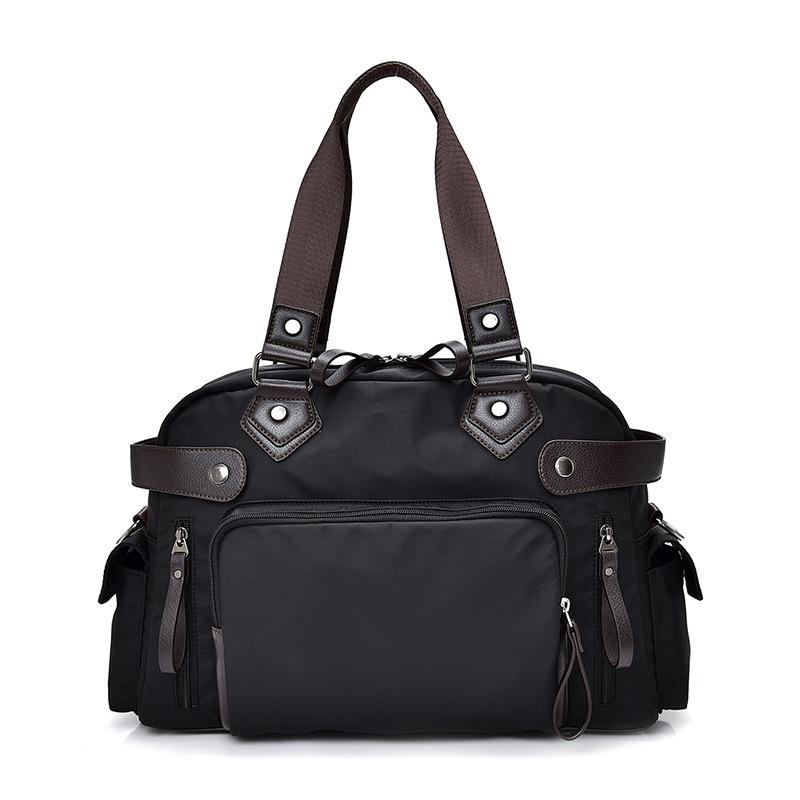 牛津手提包 優雅黑 2019最新韓款精品包 限量 背包 公事包 商務包 單肩側背包 休閒包 手提包