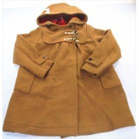 レトロン コート ロング丈 160cm 茶系 ジュニア アウター チェック 女の子 子供服 通販 買い取り