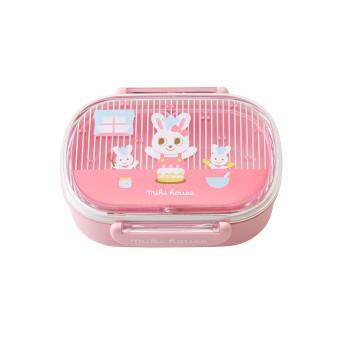 ミキハウス プッチー&うさこランチボックス(お弁当箱)(360ml) ピンク