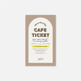 体験ギフト カフェチケット TOKYO