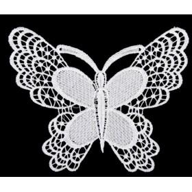 縫製 飾りDIY アップリケ蝶 ミシン アップリケ パッチ