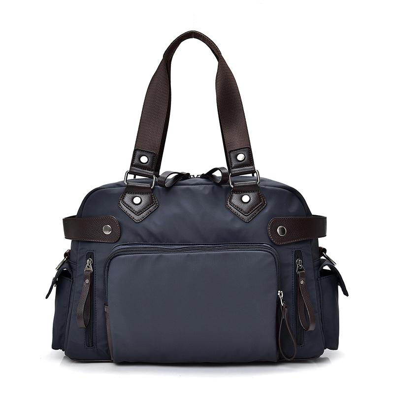 牛津手提包 海軍藍 2019最新韓款精品包 限量 背包 公事包 商務包 單肩側背包 休閒包 手提包