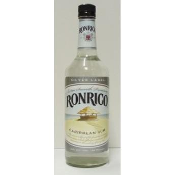 ロンリコ ホワイト(シルバーラベル) 40% 750ml ラム酒