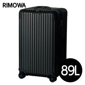 リモワ RIMOWA トパーズ ステルス 89L ブラック TOPAS STEALTH マルチホイール スーツケース 923.75.01.4