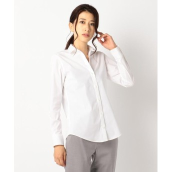 ICB Cotton Shirting シャツ レディース ホワイト系 8 【ICB】