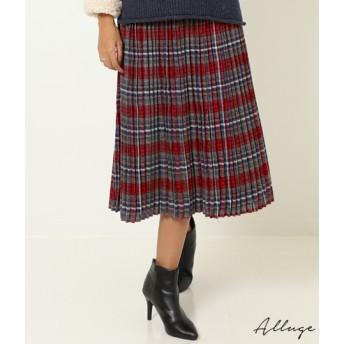 【セール開催中】ANAP(アナップ)チェックプリーツスカート