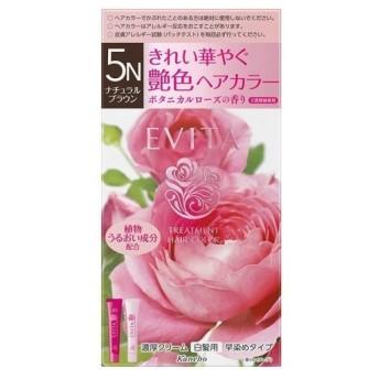 カネボウ エビータ トリートメントヘアカラー 5N (医薬部外品)