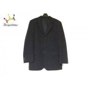 アレグリ allegri ジャケット サイズ48 XL メンズ 黒 肩パッド           スペシャル特価 20190811