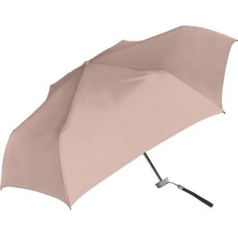 【折りたたみ傘】無地 フラット・50cm 60282 ピンク