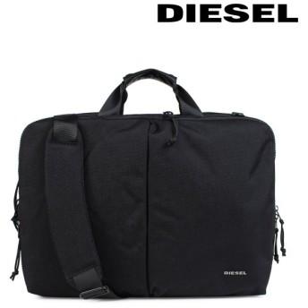 ディーゼル DIESEL ビジネスバッグ リュック メンズ ブリーフケース F-URBHANITY BRIEFCAS X05277 P1516 ブラック