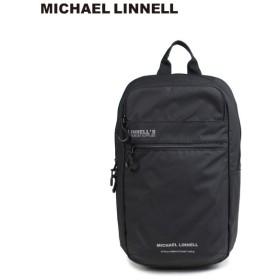 マイケルリンネル MICHAEL LINNELL リュック バッグ 23L メンズ レディース バックパック BACKPACK ブラック MLAC-05