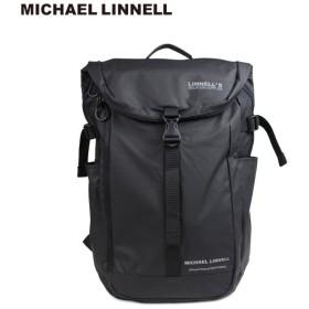 マイケルリンネル MICHAEL LINNELL リュック バッグ 31L メンズ レディース バックパック BACKPACK ブラック MLAC-04