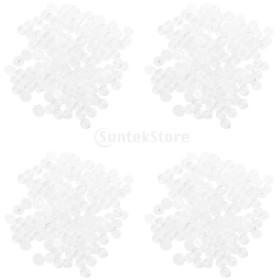Baoblaze T3レジン 樹脂ポッパー スナップ ボタン ファスナー 軽量 工芸品 約200個セット 約10mm