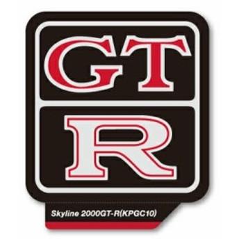 ステッカー GTR エンブレム 車 アメリカン おしゃれ かっこいい カーステッカー スカイライン 日産 ニッサン NISSAN KPGC10