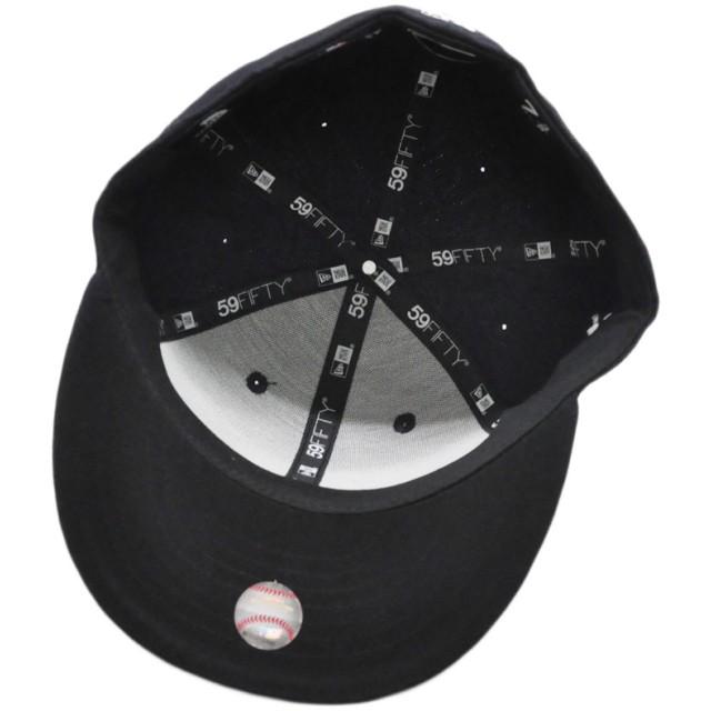 キャップ - stylise ニューエラ キャップ ◆ NEW ERA 59FIFTY MTA ニューヨーク・ヤンキース バレット ネイビー 11785092メンズ 帽子 ロゴ 刺繍 地下鉄 メトロ コラボ[FS]