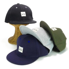 キャップ - Smart Hat Factry <秋冬新作>ワッペン付スウェットBBキャップ ヤング 帽子