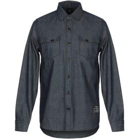 《期間限定 セール開催中》VOLCOM メンズ デニムシャツ ブルー M コットン 100%