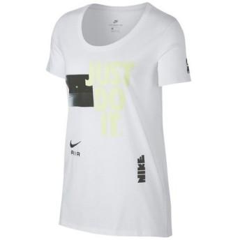 ナイキ(nike) ロゴ トップス EMBRD Tシャツ 923333-100FA18 (Lady's)