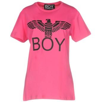 《期間限定セール開催中!》BOY LONDON レディース T シャツ フューシャ M 100% コットン