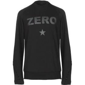 《送料無料》TOM REBL メンズ スウェットシャツ ブラック S コットン 100%