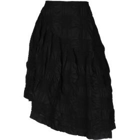 《期間限定セール開催中!》SIMONE ROCHA レディース 7分丈スカート ブラック 6 コットン 100%