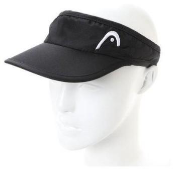 ヘッド HEAD メンズ テニス サンバイザー 0382049 (ブラック)