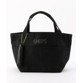 シップス ポケットトートバッグ レディース ブラック ONESIZE 【SHIPS】