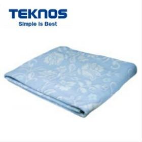 テクノス 洗える電気掛け毛布 190×130 綿100% EM-733 電気毛布
