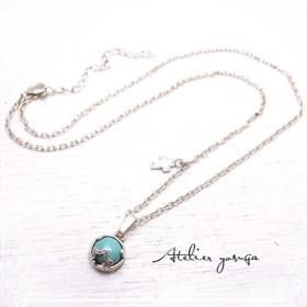 Atelier yosuga ターコイズプチネックレス「星に祈る」 de-94-ay-7