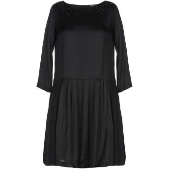 《セール開催中》L' AUTRE CHOSE レディース ミニワンピース&ドレス ブラック 38 レーヨン 100%
