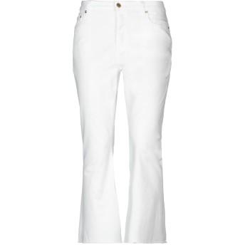 《セール開催中》MICHAEL MICHAEL KORS レディース パンツ ホワイト 0 コットン 97% / ポリウレタン 3%