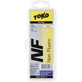 TOKO トコ  スキー・スノーボード用ワックス  HOT WAX NF純パラフィン イエロー 120g 5502001