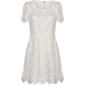 《セール開催中》DOLCE & GABBANA レディース ミニワンピース&ドレス ホワイト 42 コットン 57% / シルク 40% / ポリエステル 3%
