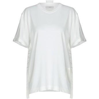 《期間限定 セール開催中》MAURO GRIFONI レディース T シャツ ホワイト XXS コットン 100%