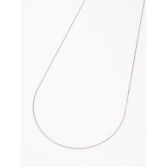 【大きいサイズレディース】シンプルでありながらも輝きはプラチナ以上!!ベネチアンチェーンのロングステンレスネックレス アクセサリー ネックレス