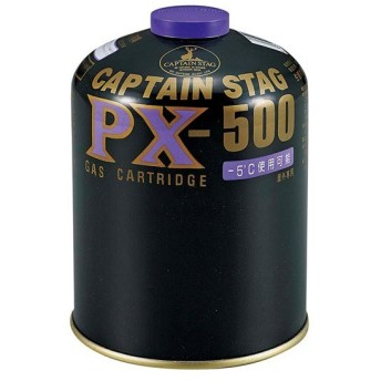 更に5%還元♪いまトク3月26・27日★キャプテンスタッグ パワーガスカートリッジ PX−500 M-8405 カスボンベ キャンプ ガス キャンプ