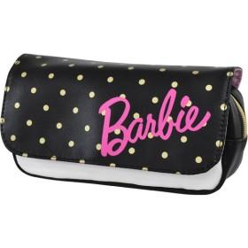 ランナー Barbie(バービー) フラップポーチ ペンポーチ レディース ブラック フリー 【RUNNER】